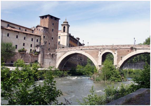 ローマのテヴェレ川-1 イタリア ...